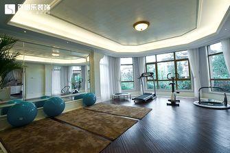 20万以上140平米别墅田园风格健身室图