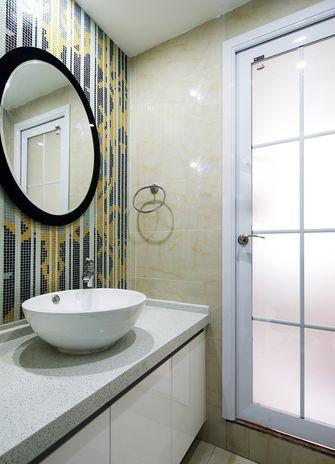100平米三室两厅北欧风格卫生间浴室柜图片