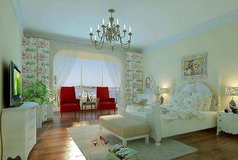 经济型140平米四室一厅田园风格卧室效果图