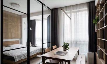 60平米一室一厅日式风格书房效果图