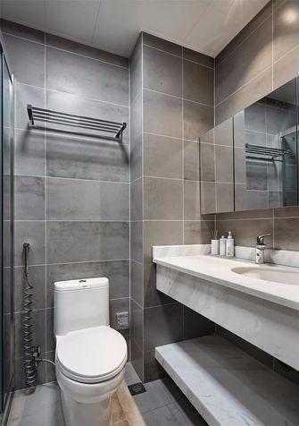 80平米三室一厅北欧风格卫生间效果图
