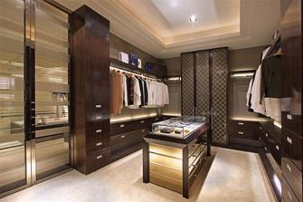 140平米四室两厅东南亚风格衣帽间欣赏图