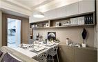 80平米现代简约风格餐厅橱柜图片