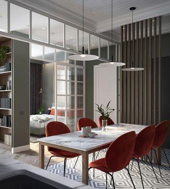 100平米欧式风格餐厅设计图
