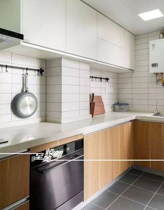 80平米三室三厅日式风格厨房装修图片大全