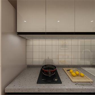 50平米一室一厅现代简约风格厨房设计图