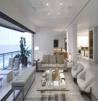 140平米三室一厅现代简约风格阳台装修图片大全