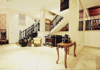 经济型140平米四室四厅田园风格楼梯图片大全