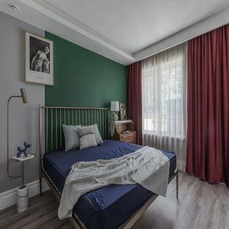 80平米公寓田园风格卧室图片