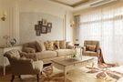 120平米三室两厅美式风格客厅沙发效果图