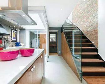 15-20万140平米别墅混搭风格楼梯图片