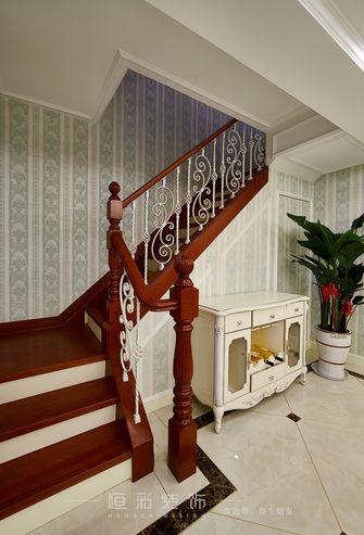 20万以上140平米四室两厅法式风格楼梯间装修图片大全