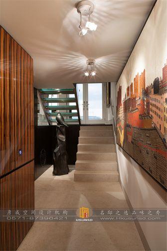 富裕型90平米复式现代简约风格楼梯图片大全