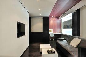 富裕型140平米四室一廳現代簡約風格客廳欣賞圖