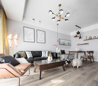 70平米公寓北欧风格客厅图