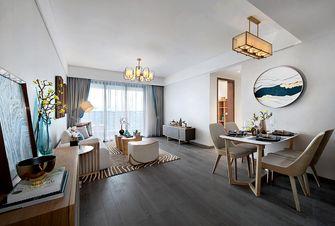 5-10万90平米中式风格客厅图
