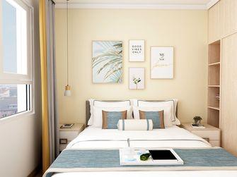 经济型90平米三室两厅现代简约风格卧室装修效果图