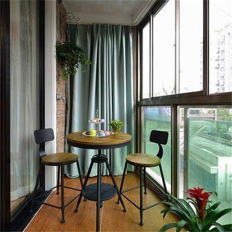 富裕型70平米田园风格阳台欣赏图