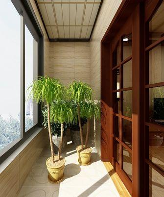 80平米东南亚风格阳台图片
