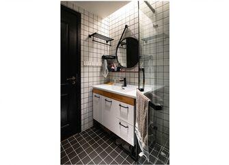 70平米公寓英伦风格卫生间图