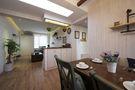70平米一室一厅田园风格餐厅欣赏图