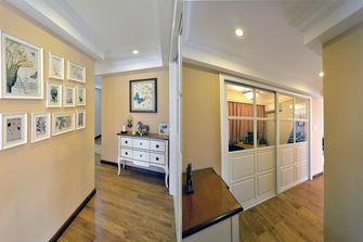 经济型140平米四室三厅混搭风格衣帽间图片大全
