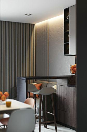 80平米三室两厅英伦风格餐厅欣赏图