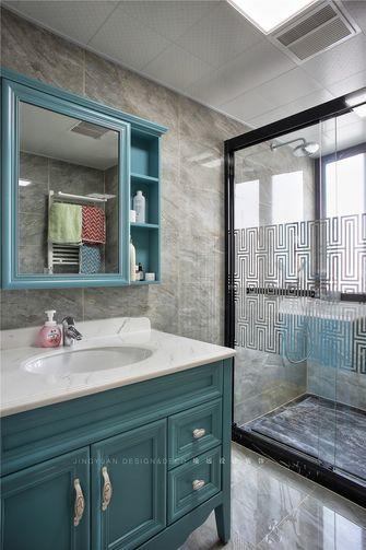 140平米复式美式风格卫生间欣赏图