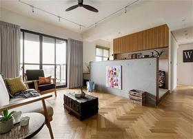 120平米三室一厅日式风格客厅装修图片大全