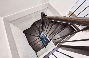 20万以上140平米别墅北欧风格楼梯装修图片大全
