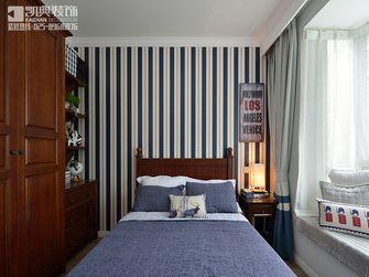 100平米三室两厅美式风格儿童房家具装修效果图