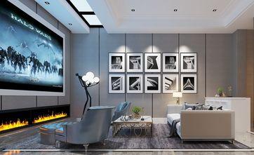 140平米别墅美式风格影音室图