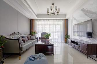 120平米混搭风格客厅图片大全
