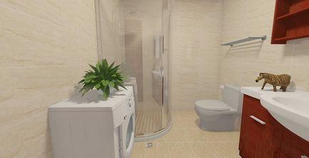 50平米一居室中式风格卫生间设计图