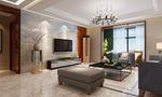 富裕型130平米四室一厅英伦风格客厅欣赏图
