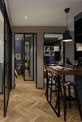 80平米宜家风格餐厅图