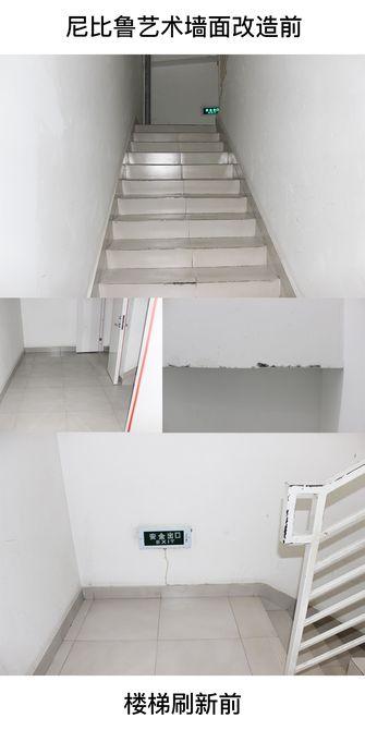 140平米宜家风格楼梯间图