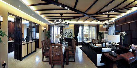 140平米四室一厅东南亚风格客厅装修效果图