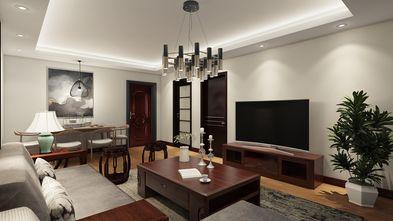 60平米公寓中式风格客厅图片大全