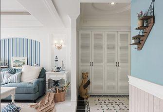 120平米三室两厅美式风格储藏室设计图