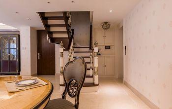 140平米三室两厅欧式风格楼梯间装修效果图