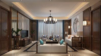 140平米三室两厅中式风格客厅沙发效果图