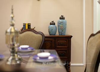 90平米三室两厅美式风格餐厅图片