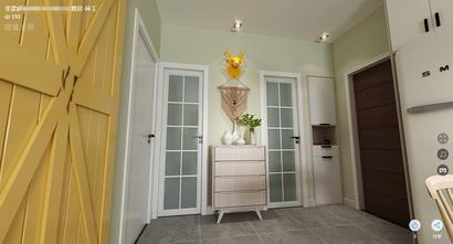 50平米小户型北欧风格其他区域装修案例