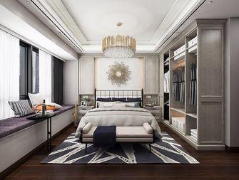 140平米三室两厅北欧风格卧室设计图