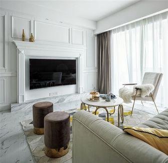 70平米一室一厅法式风格客厅装修案例