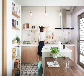 90平米一室一厅日式风格餐厅欣赏图
