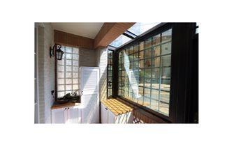 100平米一居室田园风格阳台装修图片大全