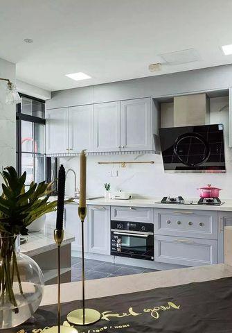 60平米一室一厅现代简约风格厨房图