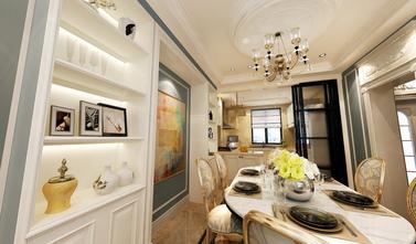 140平米三室两厅法式风格阳光房装修案例